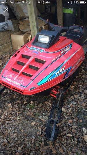 1992 Polaris Indy 440 XCR SP Snowmobile for Sale in Amherst, NH