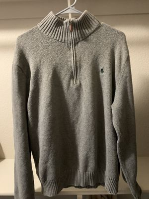 Grey Polo Sweater for Sale in Folsom, CA