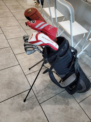 TAYLORMADE AND CALLAWAY GOLF CLUBS IRONS SET WITH izzo STAND BAG $375 for Sale in Frisco, TX