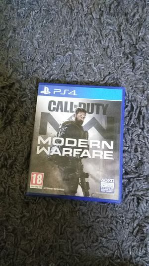 Call of Duty: Modern Warfare (PS4) for Sale in Phoenix, AZ