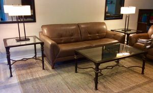 2 end tables 1 coffee table for Sale in Bradenton, FL