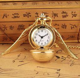 Harry Potter Pocket Watch Necklace Golden Snitch for Sale in Ogden,  UT