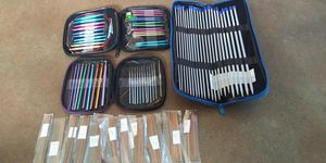 Crochet Needles and Knitting needles. for Sale in Garfield Heights, OH