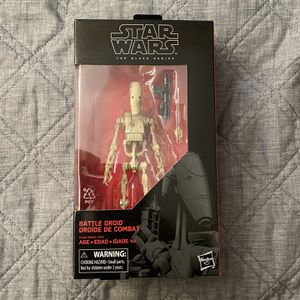 Star Wars Black Series Battle Droid for Sale in Garden Grove, CA