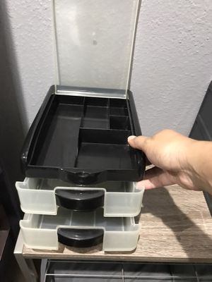 Small plastic drawer organizer for Sale in Houston, TX