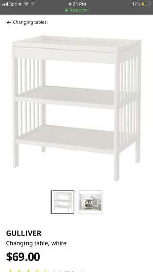 Ikea GULLIVER Baby Diaper Changing Table for Sale in Brooklyn, NY