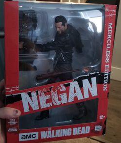Walking dead Negan Merciless Edition figure for Sale in Everett,  WA