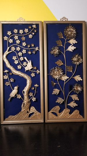 3D Asian Brass Art Panels for Sale in Fort Washington, MD