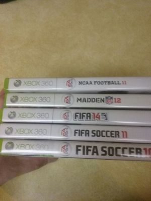 5 Xbox 360 games cheap! for Sale in Seattle, WA