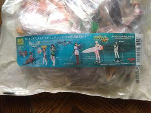 Bag of Japanese anime figures for Sale in Bassett, CA