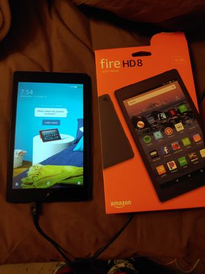 Amazon Fire HD8 tablet with Alexa 16gb for Sale in Philadelphia, PA