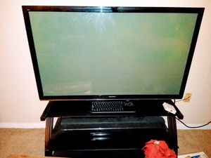 50 inch tv with stand for Sale in Gilbert, AZ