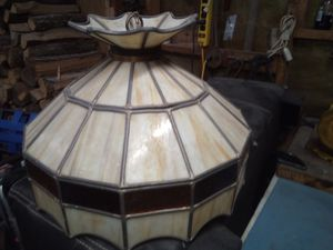 Antique custom handcrafted lamp shade from the 50s for Sale in Nashville, TN