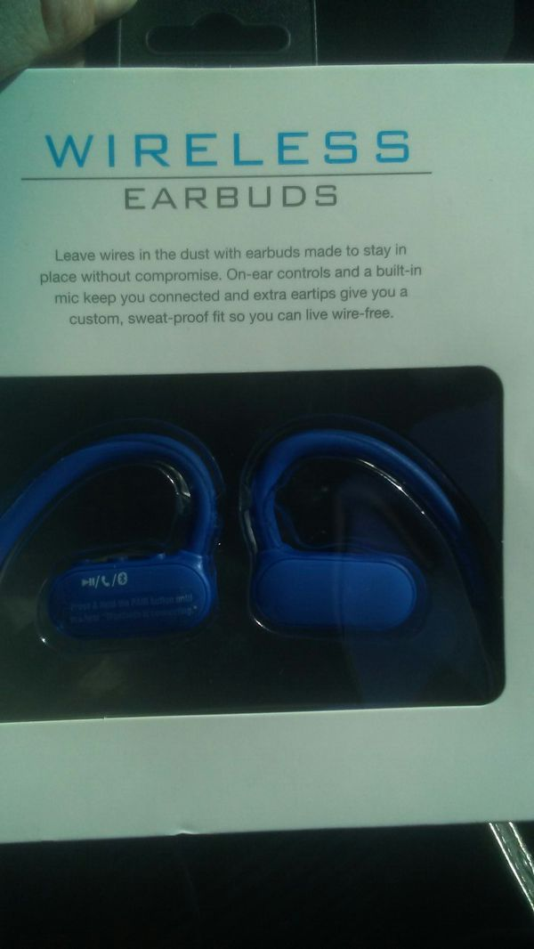 Live wireless bluetooth earbuds
