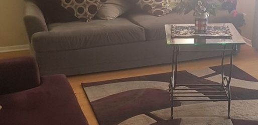 Living Room Set Sofa , Love Seat , Table and Rug for Sale in Nashville,  TN