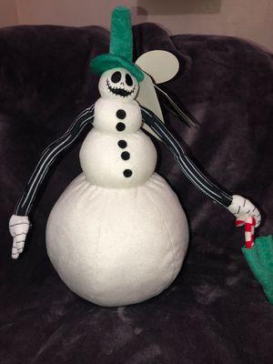 The nightmare before Christmas jack Skellington snowman for Sale in Los Angeles, CA