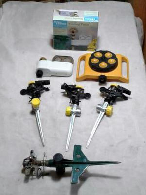 Water timer and 5 sprinklers for Sale in Austin, TX