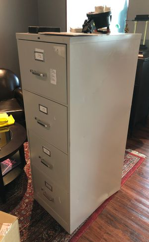 Metal legal filing cabinet for Sale in Tampa, FL