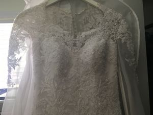 Justin Alexander wedding dress! for Sale in Cary, NC