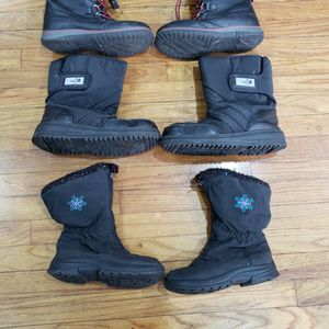 ❄❄SNOW ❄❄☃️⛄GEAR SNOW BOOTS KIDS BOOTS BOYS GIRLS UNISEX SIZE 1 & 5 for Sale in Whittier, CA