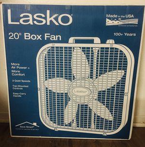 Lasko box fan for Sale in Garden Grove, CA