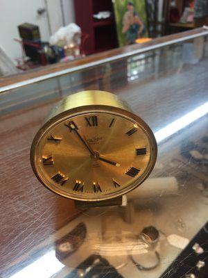 Antique vintage 3x2x3 Swiza Sheffield wind up clock 212 north Main Street Buda. 18.00 for Sale in Austin, TX