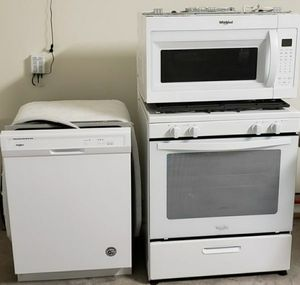 Whirlpool appliance bundle for Sale in Houston, TX
