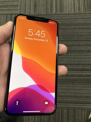 Unlocked iPhone X 64gb Space Gray for Sale in Garfield, NJ