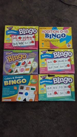 Lakeshore Learning & Trend Bingo Games, and Puzzles for Sale in Kissimmee, FL