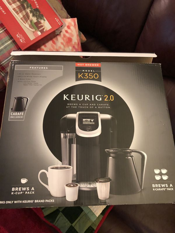 Brand new coffee machine Keurig 2.0