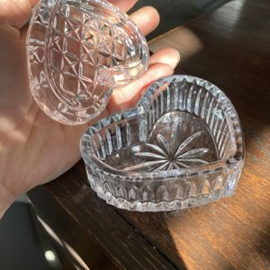 Glass Heart Box for Sale in NJ, US