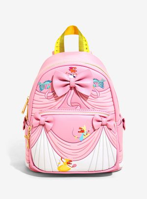 DISNEY LOUNGEFLY PRINCESS CINDERELLA PINK DRESS MINI BACKPACK for Sale in Montebello, CA