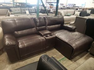 New 3pc reclining sofa chaise sectional tax included free delivery for Sale in Hayward, CA