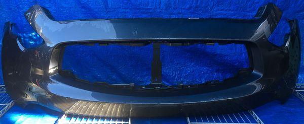 2009 - 2011 INFINITI FX35 FX50 FRONT BUMPER COVER BLUE