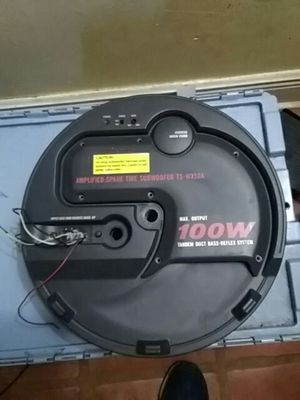 Pioneer amplified speaker goes on spare tire for Sale in Miami, FL