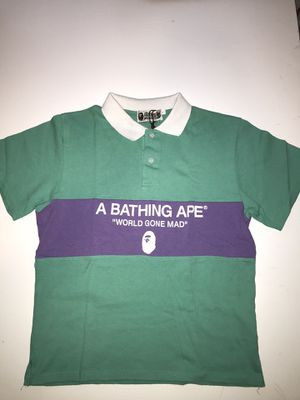 BAPE Pastel Geen Relaxed Polo for Sale in St. Petersburg, FL