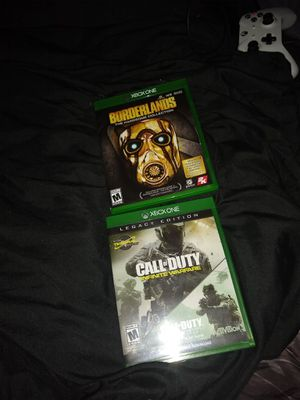 Xbox one games Borderlands handsome jack/infinite warfare for Sale in Abilene, TX