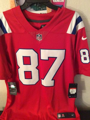 Brand New Nike Dry New England Patriot NFL Jersey size Large for Sale in Stockton, CA