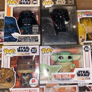 Star Wars Funko Pops for Sale in Fontana, CA
