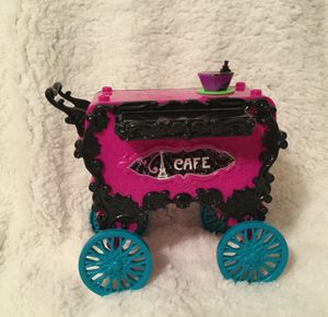 Monster High Doll Scaris City of Frights Cafe Cart for Sale in Goodlettsville, TN
