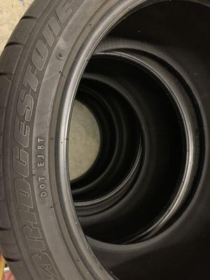 Bridgestone Potenza re050a 245/40r19 for Sale in Fairfax Station, VA