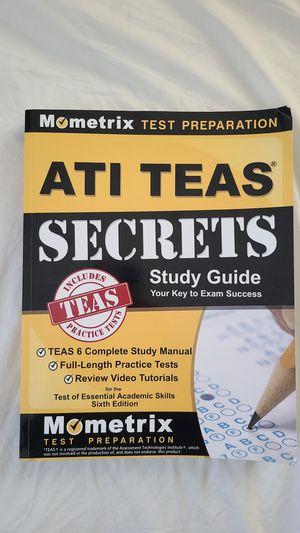 ATI TEAS Mometrix Study Guide for Sale in Simi Valley, CA