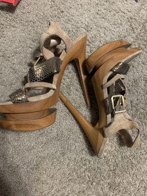 Tan Heels Jessica Simpson size 8/8.5 for Sale in Atlanta, GA