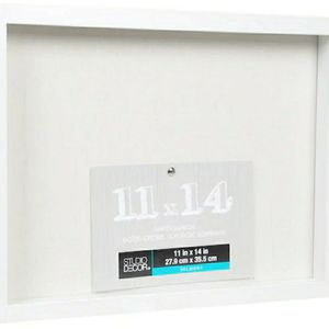 NEW White 11x14in Belmont Shadow Box By Studio Décor for Sale in Lynwood, CA