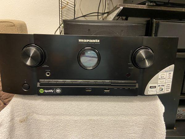 Marantz SR5009 7.2 channel receiver WiFi/Bluetooth, Apple AirPlay, 4K. 100watts per channel. Dolby/DTS