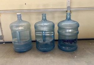 Three-five water gallons for Sale in Tucson, AZ