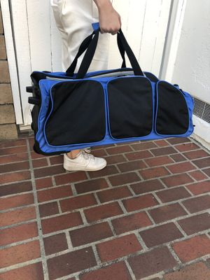 """Rolling duffle bag / luggage - approx 28"""" long for Sale in Dana Point, CA"""