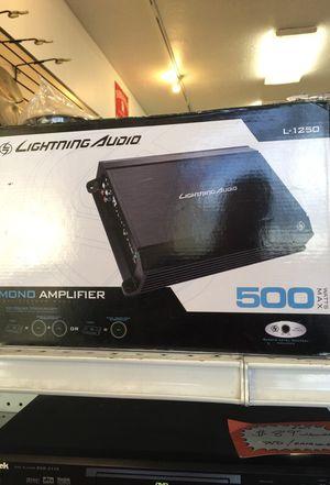 New lightning audio 500 W mono car amplifier for Sale in Murray, UT