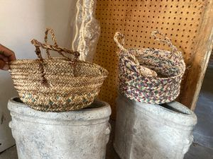 2 plants baskets - $10 both for Sale in Dallas, TX