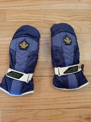 Descente Canada Ski Gloves Leather Warm Sz M with Finger Separation Inside Mitt for Sale in Westminster, CO